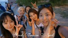 Korean & Turkish female Turanists (students) from Seoul (S.Korea, Southeast Turan).