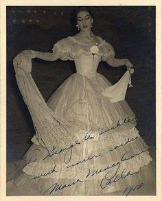Maria Callas as Violetta in La Traviata