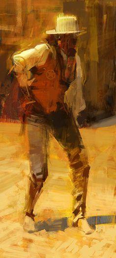 Cowboy speedpaint by Craig Mullins