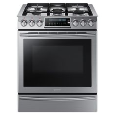 We think this is the one! Slide-In Gas Range with True Convection NX58H9500WS | Ranges
