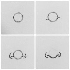 Easy drawing tips easy nose step by step cartoon drawing drawings art art drawings easy figure . easy drawing tips Pencil Sketches Easy, Art Drawings Sketches Simple, Pencil Art Drawings, Eye Drawings, Contour Drawings, Hipster Drawings, Dress Sketches, Realistic Drawings, Cartoon Drawings