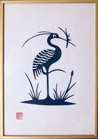 japanese papercut