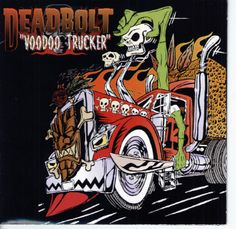 The self proclaimed ''Scariest Band in the World'' - DEADBOLT #psychobilly, #gothabilly, #voodoobilly, #music
