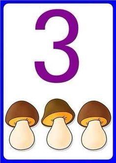 Number flashcards for kids - Preschool Centers, Numbers Preschool, Math Numbers, Preschool Math, Number Flashcards, Flashcards For Kids, Math For Kids, Lessons For Kids, Kindergarten Coloring Pages