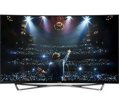"""PANASONIC VIERA TX-65CZ952B Smart 3D 4k Ultra HD 65"""" Curved OLED TV"""