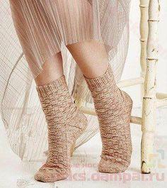 вязаные носки Slipper Socks, Slippers, Knitting Socks, Knit Socks, High Socks, Women, Fashion, Bedroom Slippers, Tights