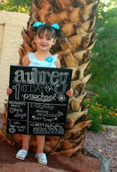 First Day of school sign and tutorial http://mimisdollhouse.com/first-day-of-school-sign/
