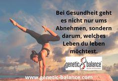 Bei Gesundheit geht es nicht nur ums Abnehmen, sondern darum, welches Leben du leben möchtest.   Der genetic balance® DNA-Test ist der Start in einen neuen Lifestyle. Und das ist mehr als bloß eine Diät.   Warum genetic balance® dir auch hilft, wenn du gar nicht abnehmen möchtest, erzählen wir dir in unseren Erfolgsgeschichten. Dna, First Aid Only, Weight Loss, Health, Life
