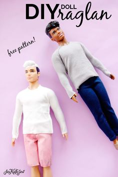 Ken Barbie Doll shirt Pattern {FREE!} - see kate sew