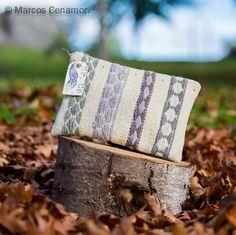 Bolso hecho artesanalmente con kilim indú. www.Facebook.com/misterce