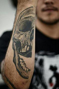 tattoo, tattoos, ink, inked, skull - More tattoos at www.tattoolook.com