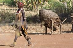 Hammer tribe in the Omo Valley, Ethiopia