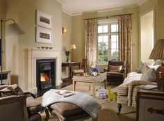 A luxury hotel in Kilkenny, the Mount Juliet Estate hotel comprises of 32 bedrooms in the Georgian Manor house and 93 bedrooms in Hunter's Yard. Luxury Accommodation, Luxury Lodges, Mount Juliet, Garden Lodge, Spa Breaks, Hotel Services, Bedroom With Ensuite, Relax, Lounge
