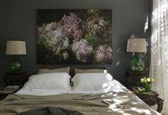 Красивые картины цветов в интерьере