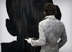 Dragos Sulgheru - charcoal drawing by Dragos-Sulgheru on DeviantArt Charcoal Art, Charcoal Drawings, Art Deco, Portraits, Deviantart, Sculpture, Fine Art, Studio, Painting
