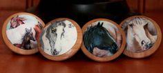 The Four Horses 4 pc Set. $20.00, via Etsy.