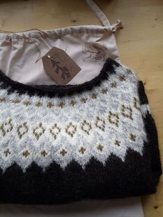 """""""So in peace our task we ply, Pangur Bán, my cat, and I…"""" – Ways of Wood Folk Fair Isle Knitting, Hand Knitting, Icelandic Sweaters, Little Presents, Knit Stockings, Knitwear Fashion, Christmas Knitting, Crochet Clothes, Knitting Patterns"""