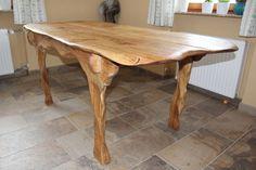 kitchen table - oak wood
