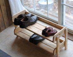 Handmade Reclaimed Wood Shoe Stand / Rack / от ReformedWood