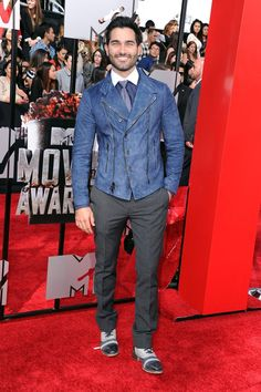 Pin for Later: Hollywood Hits the MTV Movie Awards Red Carpet Tyler Hoechlin