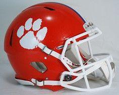 Clemson Tigers Revolution Speed Authentic Helmet