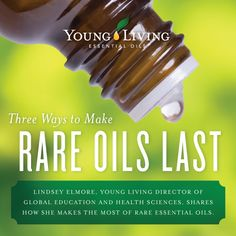 Make your rare oils last all year! Dr. Lindsey Elmore shares her top three tips. Read more: https://blog.youngliving.com/?p=7365. For more information and to order Young Living, visit: www.thesavvyoiler.com
