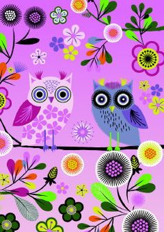 Roger la Borde | Enchanted Owl Greeting Card