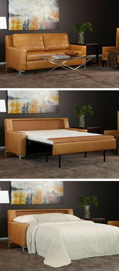 Furniture, Maximizing Small Spaces Using Modern Sleeper Sofa Queen ...