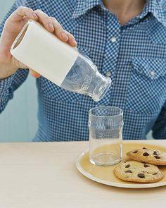 April Fools' Trick: Solid Milk