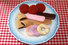 Knitting & Crochet Pattern for a Selection of Biscuits by Bottletopboy, £2.75