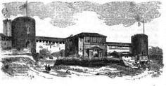 Archivo:Cast Sforzesco grabado siglo XVII. Ningún príncipe olvidó la necesidad de atender al bien público para transformar las ciudades sobre las que gobernaban. FRANCESCO SFORZA en Milán IL FILARETE. un arquitecto que proyectó para él, Sforzinda, y obras ligadas a la figura de Sforza. Reformó el castillo de Sforza, interviniendo también MICHELOZZO,  resultando un castillo que fue adornado con una torre central en la fachada principal.  que remite a Sforzinda, la ciudad ideal