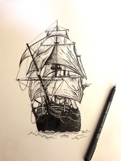 Ilustrated ship - Google zoeken