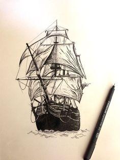 Ilustrated ship - Google zoeken