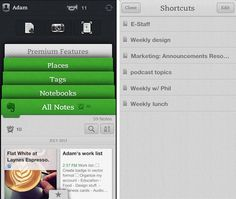 Evernote adds shortcuts, related notes and Skitch support for iOS apps