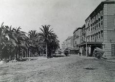 Explanada de España 1893 - Archivo Ayuntamiento.Colección: FRANCISCO RAMOS MARTÍN