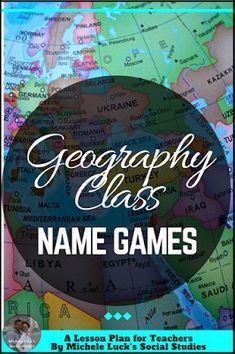 Easy to implement ideas and tips for Teaching Geography in the middle or high school classroom with lesson plan suggestions, websites to use, and activities to make learning more engaging. This part of the series focuses on learning geographic names. Geography Lesson Plans, Ap Human Geography, Geography Activities, Teaching Geography, Teaching History, Teaching Resources, History Education, Teaching Ideas, Teaching Strategies