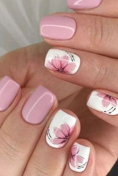 (Notitle) (notitle) Nail arts Related posts: 20 Popular Spring Nail Art Design Ideas 2020 Trend Kids educationTop Simple nail designs for short nails - short purple acrylic square . Kids nail designs and ideas for Coffin Acrylic Nails Kids . Pretty Nail Art, Cute Nail Art, Beautiful Nail Art, Elegant Nail Art, Pink Nail Art, Flower Nail Art, Nail Art Flower Designs, Flower Design Nails, Nail Flowers