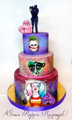 Suicide squad - Cake by Julia Taran