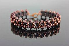 Beaded bracelet  https://www.sashe.sk/kacenkag/detail/hnedy-dazd