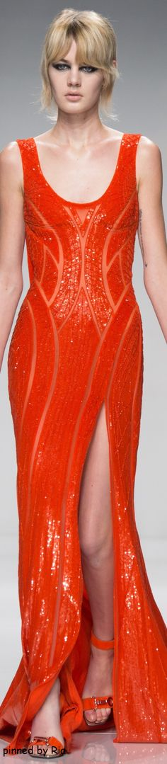 Atelier Versace Spring 2016 Couture  l Ria
