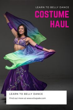See my secret closet of beautiful belly dance costumes. Which is your favorite?