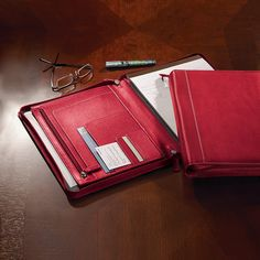Leather Resume Portfolio Black Leather Padfolio  Perfect For Resume Copies Notes And .