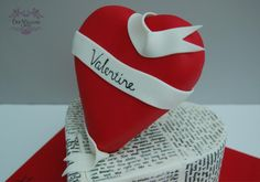 How do I love thee... - Cake by Deb Williams