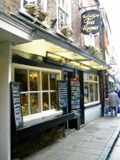 The Earl Grey Tea Rooms  York Uk