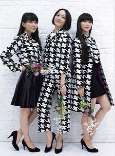Ladygunn Fall 2016 issue - My Fashion World 2019 Japanese Fashion, Japanese Girl, Perfume Jpop, Perfume Recipes, Ootd Fashion, Fasion, Kimono Top, Fragrance, Bridesmaid Dresses