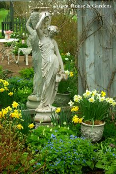Aiken House & Gardens: Dreaming of our Spring Garden - Martha