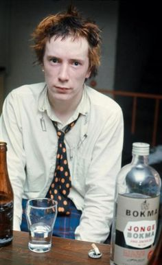 The man of my dreams, Johnny Rotten.
