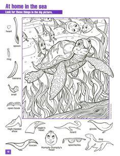 hidden pictures printables hidden pictures animals learningenglish esl - Printable Hidden Pictures For Kids