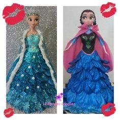 BONECAS ANNA e ELSA - FROZEN VESTIDO E.V.A COM GLITTER e aplicação de STRASS    **VALOR POR DUAS BONECAS !!!!    também feitas por encomendas princesas disney, monstershigh, noivas, 15 anos, etc.