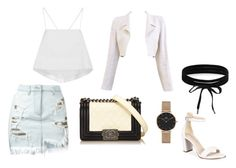 """""""#6"""" by chavelles on Polyvore featuring Versus, A.L.C., Chanel, Kenneth Cole, Boohoo and Daniel Wellington"""
